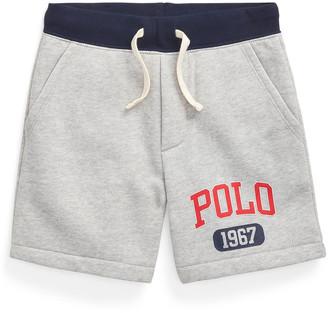 Ralph Lauren Kids Boy's Polo 1967 Drawstring Shorts, Size 2-4
