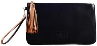 Kartu Studio ''Pepper'' Natural Leather Clutch - Black
