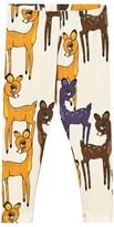 Mini Rodini Roe Deer Leggings Brown