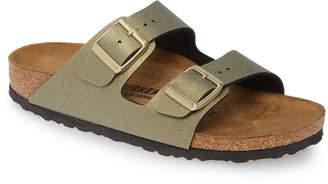 Birkenstock Arizona Icy Metallic Slide Sandal