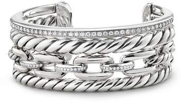 David Yurman Wellesley Cuff with Diamonds