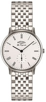 Rotary Gents Stainless Steel Bracelet Watch Gb90050/01