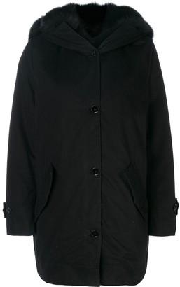 Ermanno Scervino Fur-Lined Coat