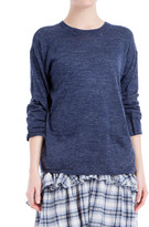 Max Studio Round-Neck Pullover Sweater