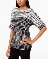 JM Collection Grommet-Detail Top, Created for Macy's