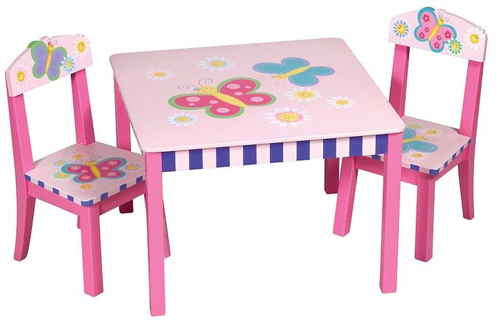 Guidecraft butterfly table and chairs set