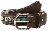 M&F Western - Ribbon Overlay Lacing Belt Men's Belts