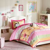 Bed Bath & Beyond Mizone Kids Monkey Business Comforter Set in Pink