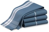 Windowpane Towels, Set of 4, Light French Blue