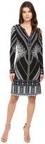Hale Bob In Haute Pursuit Micro Fiber Jersey Dress