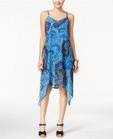 Spense Petite Chain-Detail Printed Dress