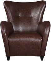 Uttermost Lyric Accent Chair in Brown
