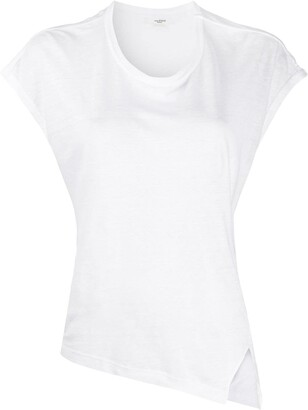Etoile Isabel Marant asymmetric hem T-shirt