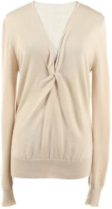 Celine Khaki Cashmere Knitwear