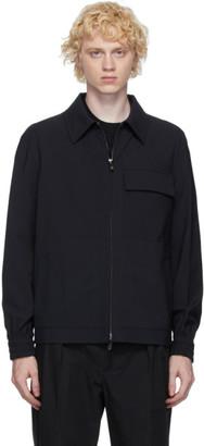 Valentino Navy Wool Jacket