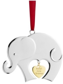 Nambe Babys First Christmas 2020 Ornament