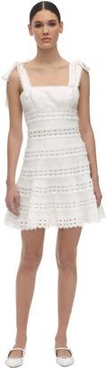 Zimmermann Lace Mini Dress