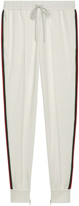 Gucci Piquet jersey trousers