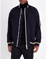 Sacai Tipped Cotton Bomber Jacket