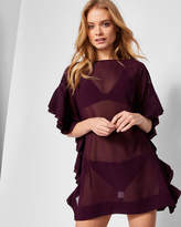Ted Baker RUFELA Ruffle detail cover up