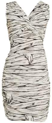Moschino Mummy Print Bodycon Dress