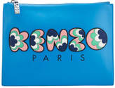 Kenzo Women's Occasions A4 Pouch Blue