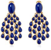 Aurelie Bidermann Cherokee Lapis Earrings