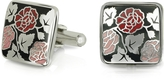 Forzieri Fashion Garden - Roses Square Cufflinks