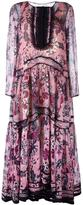 Chloé floral tiered maxi dress - women - Silk/Polyester - 34