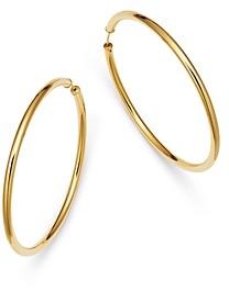 Moon & Meadow Endless Hoop Earrings in 14K Yellow Gold - 100% Exclusive