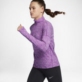 Nike Element Women's Long Sleeve Running Half-Zip Top