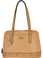 Tignanello Smooth Leather Garden Party Dome Satchel
