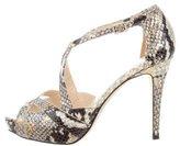 Kate Spade Embossed Platform Sandals