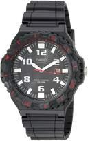 Casio Men's MRW-S300H-8BVCF Solar Powered Analog Sport Watch