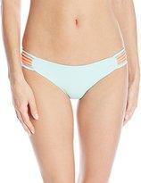L-Space LSpace Women's Color Block Oasis Reversible Bikini Bottom