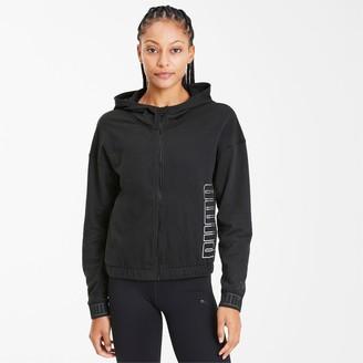 Puma Logo Women's Full Zip Hoodie