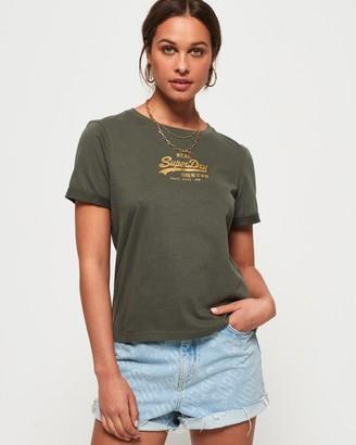 Superdry Vintage Logo Boxy T-Shirt