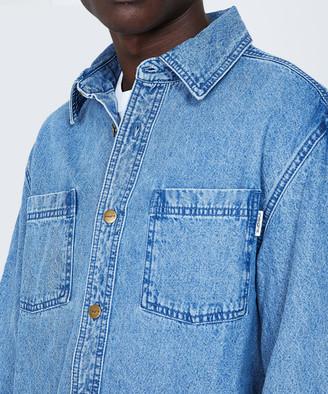 Insight No Work Overshirt Blue