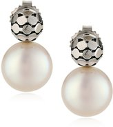 "Honora Times Square"" Freshwater Cultured Pearl Drop Earrings"