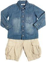 Organic Cotton Chambray Shirt & Shorts