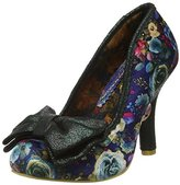 Irregular Choice Women's Mal E Bow Closed-Toe Pumps,37 EU