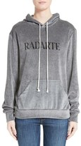 Rodarte Women's Radarte Velour Hooded Sweatshirt