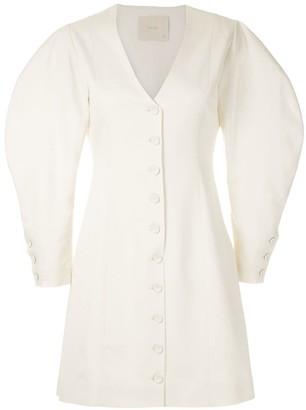 Framed Greta long-sleeved dress
