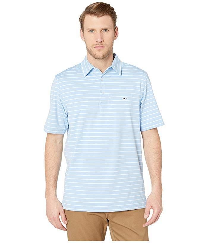 73803239 Vineyard Vines Blue Men's Polos - ShopStyle