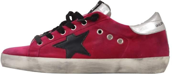 Golden Goose Hot Pink Superstar Sneaker