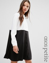 Asos Color Block Shirt Dress