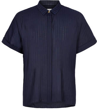 Nümph Sapphire Mahalia Shirt - 38 | polyester | sapphire - Sapphire