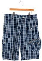 Dolce & Gabbana Boys' Plaid Knee-Length Shorts