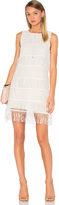 J.o.a. Sleeveless Fringe Mini Dress