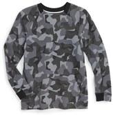 Nike 'Tech Flece' Crewneck Shirt (Little Boys & Big Boys)